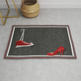 Shoes for every occasion Rug