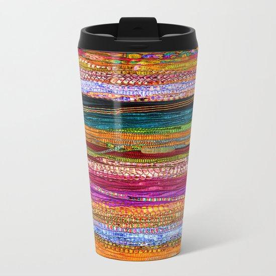 Indian Colors Metal Travel Mug