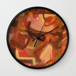 Untitled 6 Wall Clock