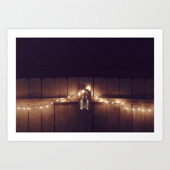 Night Lights Art Print