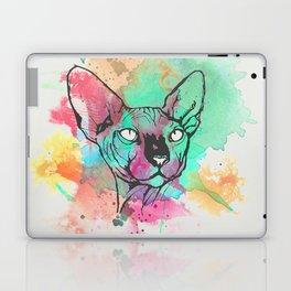 Watercolor Sphynx Laptop & iPad Skin
