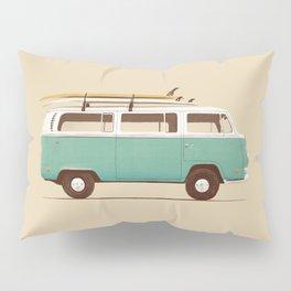 Van - Blue Pillow Sham