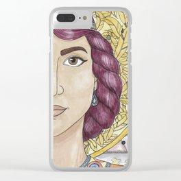 Priscilla Clear iPhone Case