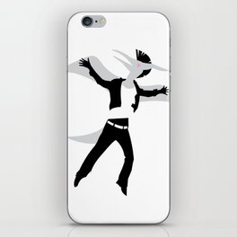 Courting Pterodactyls  iPhone Skin