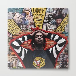 Chief Keef Metal Print