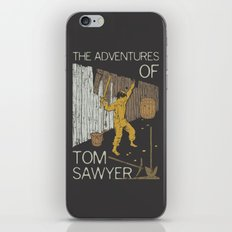 Books Collection: Tom Sawyer iPhone Skin