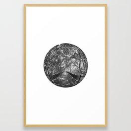 Circular Fisheye #6 Framed Art Print