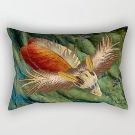 Flying Low Rectangular Pillow