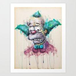 Krusty Art Print