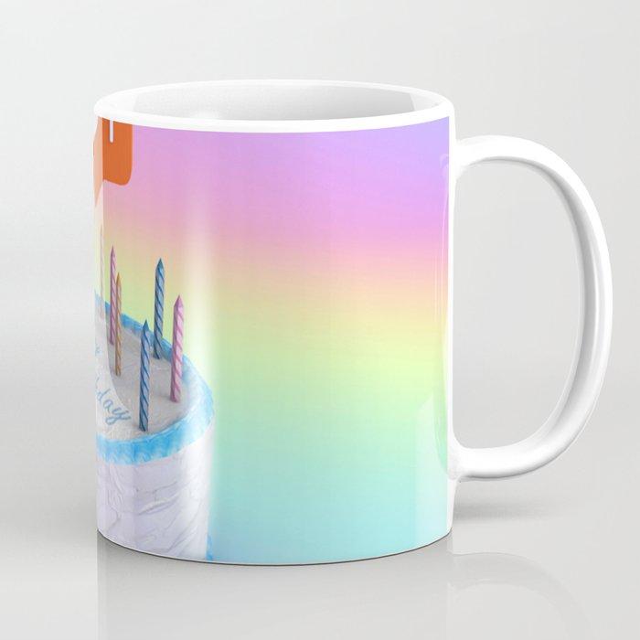 Happy Birthday Cake Coffee Mug By Nickjaykdesign Society6