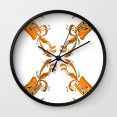 Rabbit Rabbit Wall Clock