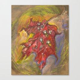 Spangled Canvas Print
