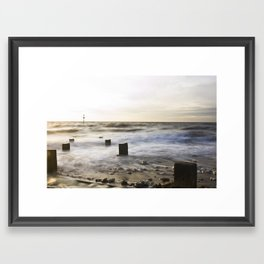 "Old Hunstanton Beach ""Ten"" Framed Art Print"