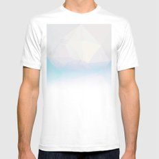 Fortress Mens Fitted Tee White MEDIUM
