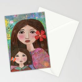 My Daugher My Love by Elizabeth Claire Stationery Cards