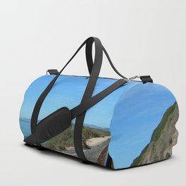 Costal Train Tracks Duffle Bag