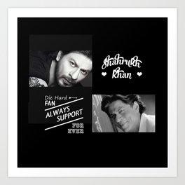 Shahrukh Khan ToteBag Art Print