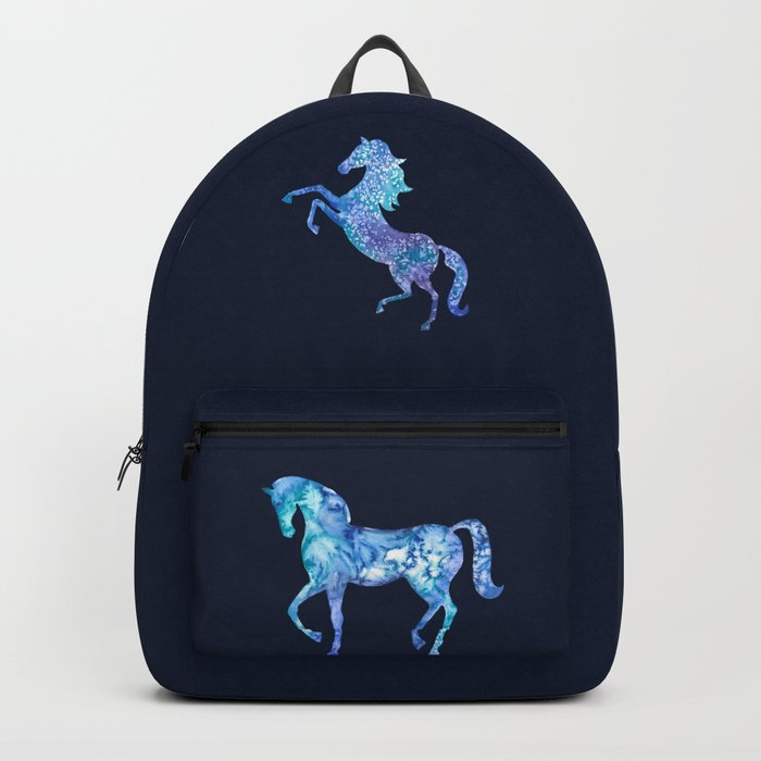 Blue horse in my dreams Backpack