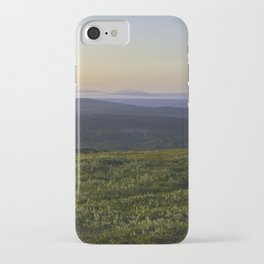 Midnight sun iPhone Case