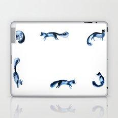 Running silver foxes Laptop & iPad Skin