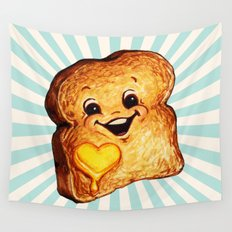 Toast Wall Tapestry
