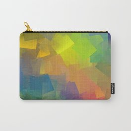 Abstract cubism -2- Carry-All Pouch