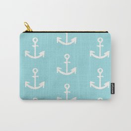 Anchor - mint blue Carry-All Pouch