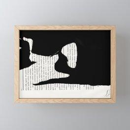 Coricata nera Framed Mini Art Print