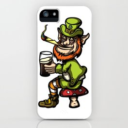 Wasted Leprechaun iPhone Case