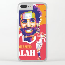 Mohamed Salah Clear iPhone Case
