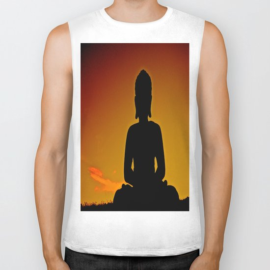 In Buddha's Shadow Biker Tank