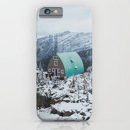 Conrad Kain Hut iPhone Case