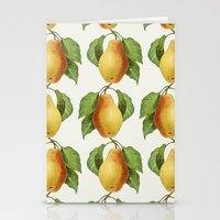 pear Stationery Cards featuring Pear by Grace