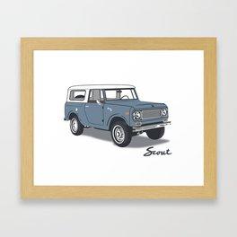 International Scout Framed Art Print
