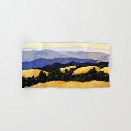California Landscape Hand & Bath Towel