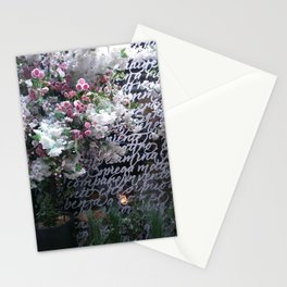 At the Mayfair florist III Stationery Cards