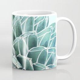 Succulent splendour - aquatic mist Coffee Mug