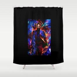 keanu reeves Shower Curtain