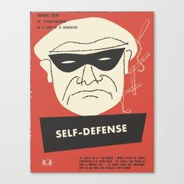 Self-Defense Canvas Print