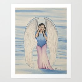 Out of the Grace of God Art Print
