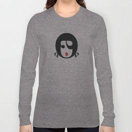 Bodoni Girl Long Sleeve T-shirt