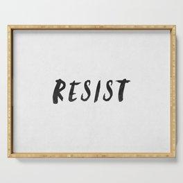 RESIST 4.0  #resistance Serving Tray