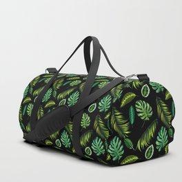 Leaf, Amazonia,Pattern, Jungle, Forest, Tropical, Palm, Tree, Design Duffle Bag