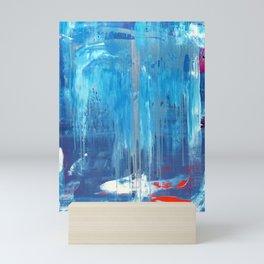Blue Train Mini Art Print