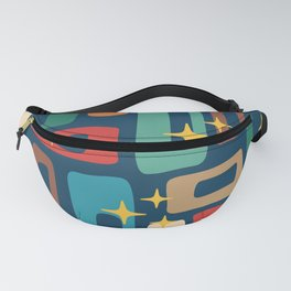 Retro Mid Century Modern Abstract Pattern 221 Fanny Pack