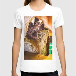 """OXIDE"" - Beachport Jetty, South Australia T-shirt"