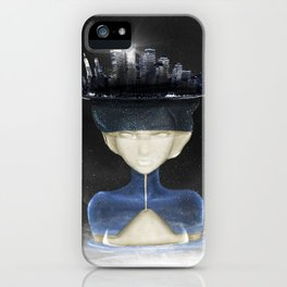 Lady Of the Night iPhone Case