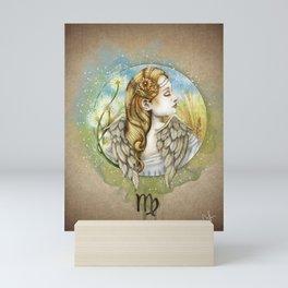 Virgo - Zodiac Sign Mini Art Print
