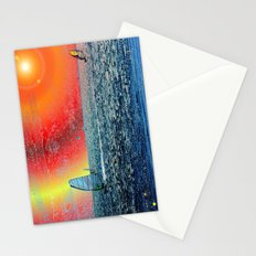 Wind, Surf and Sun Stationery Cards