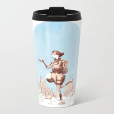 Walking Home Metal Travel Mug